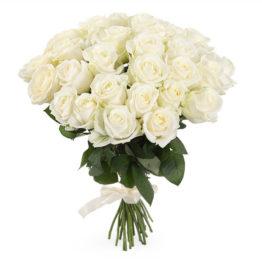 Белые Уральские розы