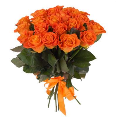 Ораньжевые Уральские розы